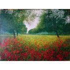 Картина пейзаж масло холст подписная красивая в интерьере