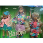 Набор, Sharin Sisters 1991, Skipper, Barbie, Stacie