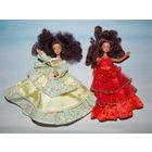 Красивые мини куколки в шикарных платьях