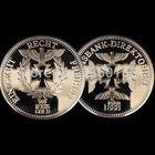 Германия 1888г. монета со сквозным крестом. распродажа