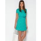 Платье летнее бирюзового и темно-синего цвета размер 42