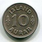 ИСЛАНДИЯ - 10 ЭРЕ 1940
