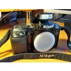 Фотоаппарат NIKON F50. Небольшой торг уместен.