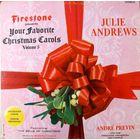 Julie Andrews With Andre Previn - Your Favorite Christmas Carols, Volume 5 - LP - 1966