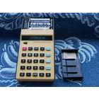 """Калькулятор """"Электроника МК-57 (57а)"""". Сделано В СССР. Июнь 1986 года. С блоком питания с ЕВРО-вилкой! Батарейки в комплекте!"""