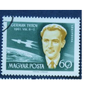 Венгрия 1962 Космос Первые космонавты Титов