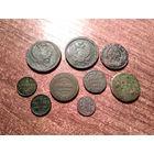 Лот монеты империи с рубля