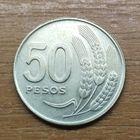 50 песо 1970 Уругвай _РАСПРОДАЖА КОЛЛЕКЦИИ