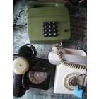 3 телефонных аппарата времен СССР, оптом или на выбор.