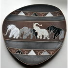 Панно. Слоны. Эмаль