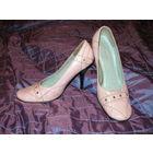 Гламурные розовые туфли р.37