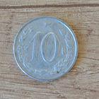 Чехословакия 10 геллер