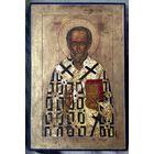 Икона старинная Николай чудотворец