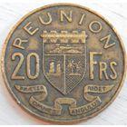 12. Реньен 20 франков 1955 год