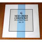 """New Order """"Ceremony"""" (Vinyl)"""
