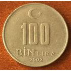 Турция, 100000 лир 2002