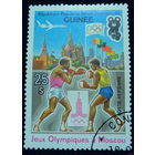 Марка ГВИНЕЯ 1980 спорт
