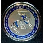 Орден Тамплиеров Синий крест Серебро. распродажа