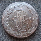 5 копеек 1768 ЕМ медь