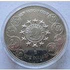 Либерия 5 долларов 2004 Новые монеты Ватикана