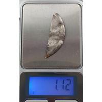 Лом серебра часть корпуса часов лот 10 из личной коллекции 1,12 грамма