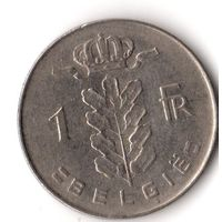 Бельгия 1 франк1972