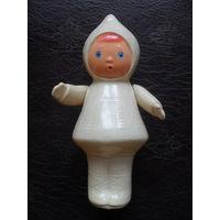 Советская куколка,целлулоид.17 см.Руки на резинках.Котовск.