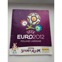 Альбом для наклеек Евро 2012