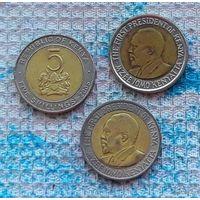 Кения 5 шиллингов. Новогодняя распродажа!!!