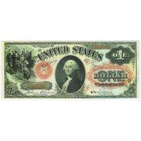 США 1 доллар 1875  - КОПИЯ