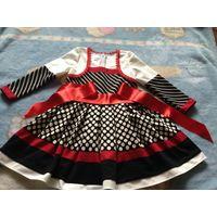 Платье новое р. 98-110