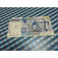 ИТАЛИЯ 1984 ГОД 10000 ЛИР