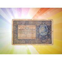 Польша 100 марок 1919г