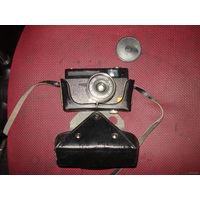 """Фотоаппарат """"Вилия"""" с кожаным футляром"""