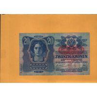 Австрия  20 крон 1913г.