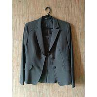 Костюм деловой классический женский (пиджак и юбка-карандаш) размер 46-48