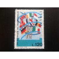 Италия 1978 день марки, флаги