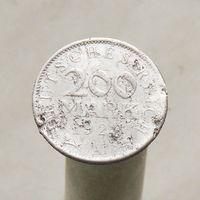 Германия 200 марок 1923 А