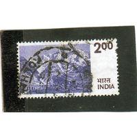 Индия.Ми-639.Горы. Гималаи.1975.
