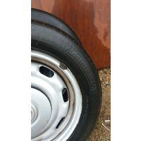 Диски металлические R14 (4 шт.) с летней резиной