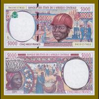 [КОПИЯ] Габон 5000 франков 2000г.