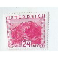 Крепость в Зальцбурге. Австрия. Дата выпуска:1930-09-08