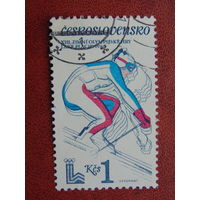 Чехословакия 1980г. Спорт.