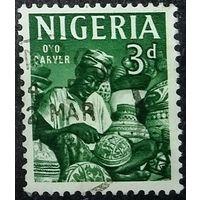 Нигерия 1961 г Промыслы Этнос