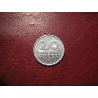 20 филлеров 1967 года Венгрия