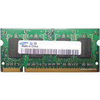 Оперативная память Samsung DDR2 512MB SO-DIMM  PC2-5300  (M470T6554EZ3-CE6)