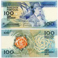 Португалия. 100 эскудо (образца 1987.12.03 года, P179d, подпись 6, UNC)