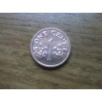 Сингапур 1 цент 1989 (2)