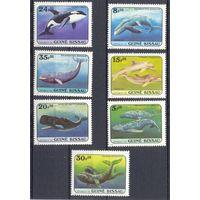 Гвинея-Бисау  рыбы фауна полная серия ДОСТАВКА БЕСПЛАТНО