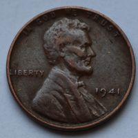 США, 1 цент 1941 г